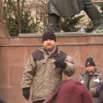 Árpád a Kossuth téren